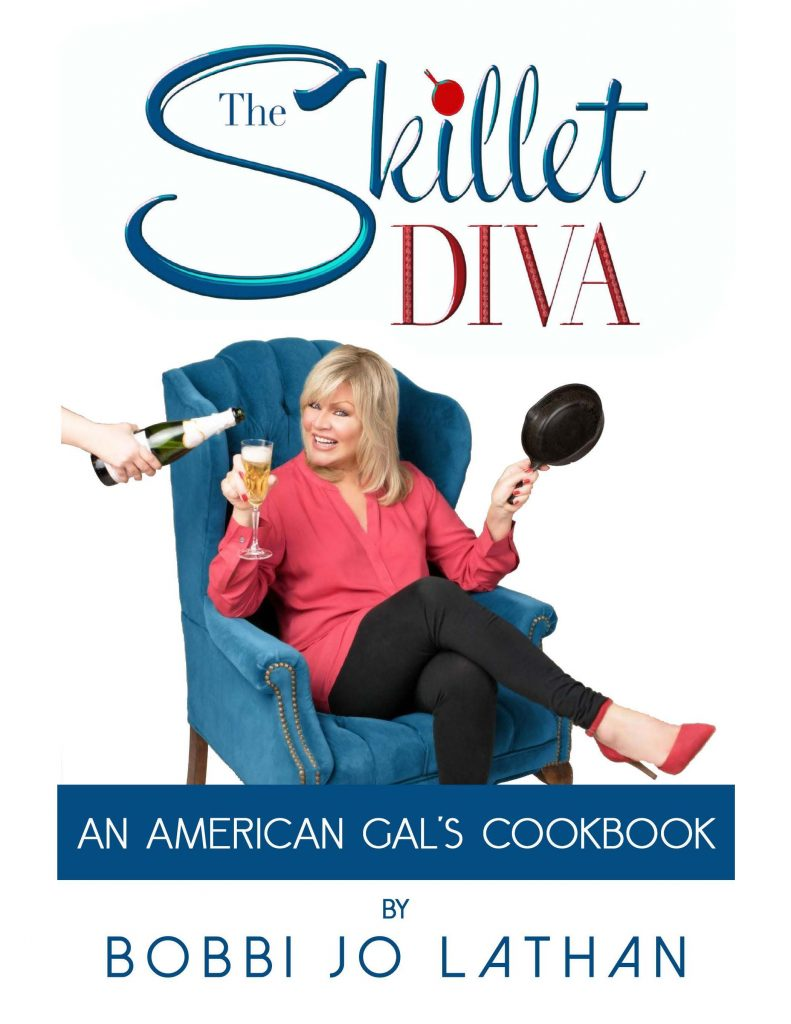book cover for An American Gal Cookbook